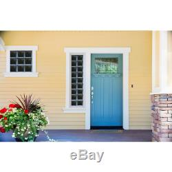 31 In. X 21.25 In. X 3.125 In. Frameless Clear Non-Vented Glass Block Window