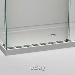 DreamLine Enigma Air 60-3/8 in. W x 34-3/4 in. D Frameless Shower Enclosure i