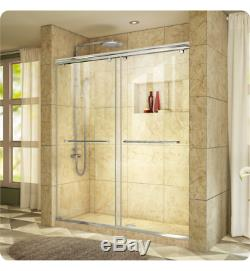 DreamLine Sliding Shower Door W 56 to 60 x H 76 Clear Glass, SHDR-1360760-04