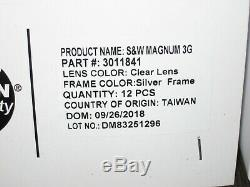 Smith & Wesson Magnum 3G Safety Glasses 19961 3011841 16 Dozen 192 PAIRS BLOWOUT