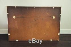 Vintage 24x36 Etched Wall Mirror-Floral Frameless Rectangle Antique Wall Mirror